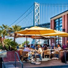 San Francisco, San Francisco restaurant, mother and son,