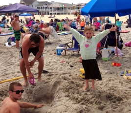 Ocean City NJ, summertime fun, the beach