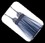 blue nightgown, boyfriend, flash fiction