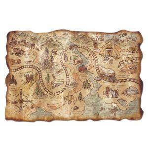 treasure map, flash fiction