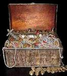 treasure chest, flash fiction