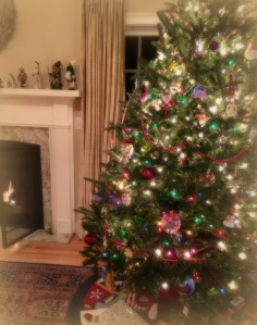 home for Christmas, Christmas tree