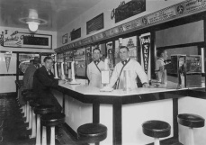 soda shop, 1940s, true story, before WWII