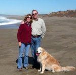 Pt Reyes, golden retriever