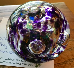 weighty thoughts, paperweight, blog