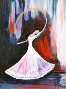 spirit dance, dancing, Melanie Bourne, flash fiction