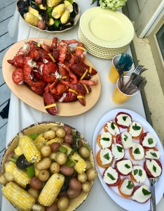 lobster, New England, summer supper