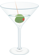 martini night, suspense, blog contest