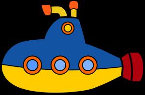 pixabay, yello submarine