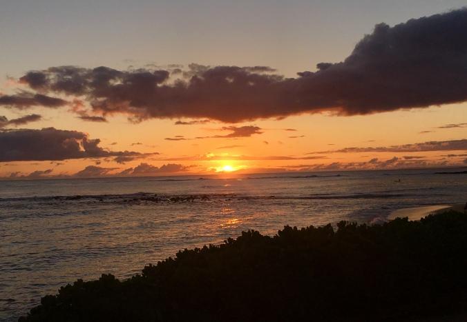 Kauai, Hawaii, sunset