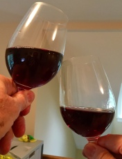 wine, toasting, mystery