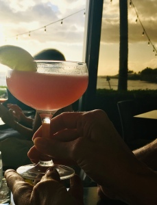 cosmo, Hawaiian drink, Kauai, The Beach House
