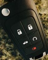 key, key fob, rental car, battery, blog