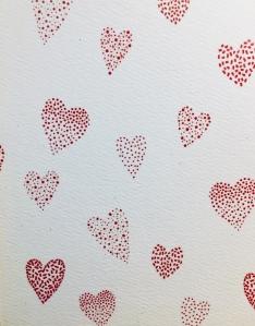 Valentine, Valentine hearts
