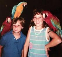 parrots, Hawaii, parenthood