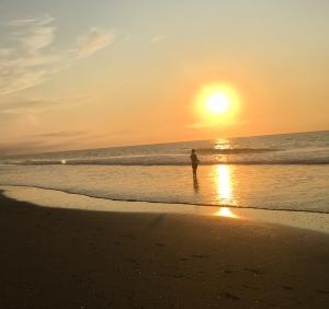 sunrise, seashore, Ocean City NJ