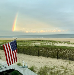 rainbow, rainbow over the ocean, Ocean City NJ