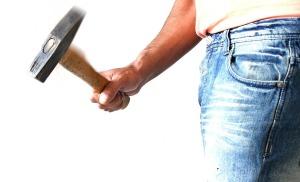 sledgehammer, hammer, renovation, marriage