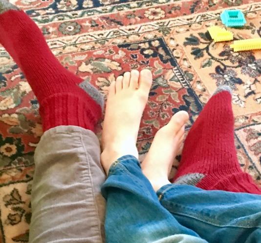 knock your socks off, grandparenting love