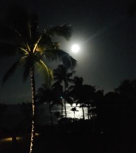 full moon, Kauai, morning moon
