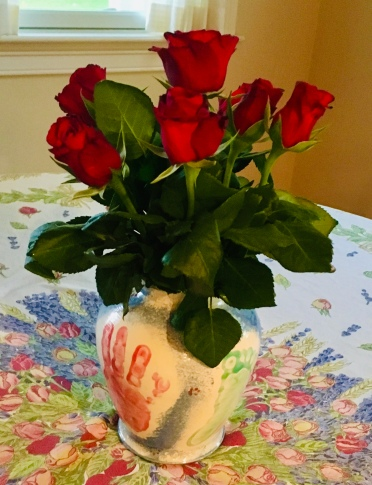 roses, red roses, Valentine's Day