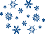snowflakes, grocery shopping, shopping attendant