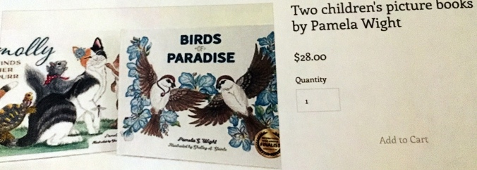 Molly Finds Her Purr, Birds of Paradise, children's illustrated books