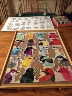 jigsaw puzzle, puzzle, bird puzzle