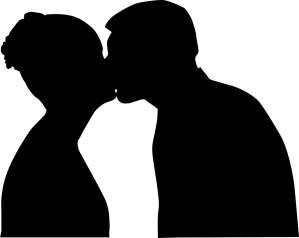 kiss, kissing, old love, love, public display of affection