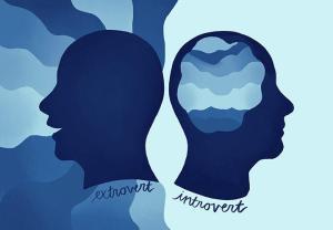 introvert, extrovert