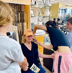 ear piercing, Ocean City NJ Boardwalk