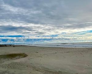 sea storm, Ocean City NJ. after the storm, summer at the shore
