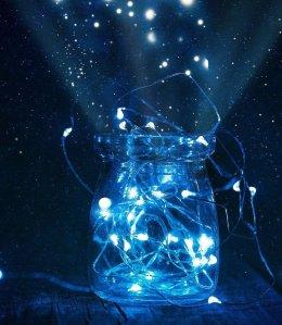 thanks to Pixabay and Joshua Woroniecki, fireflies, romance